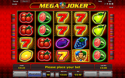 Mega Joker slot 58139