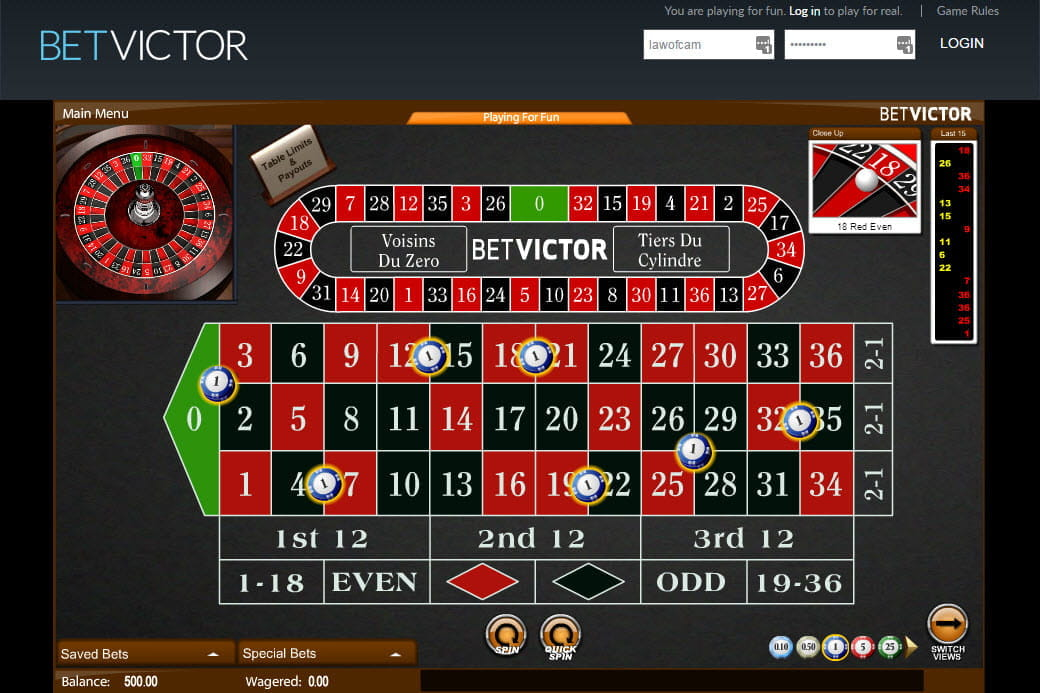 Roulette Rules Gala 70736