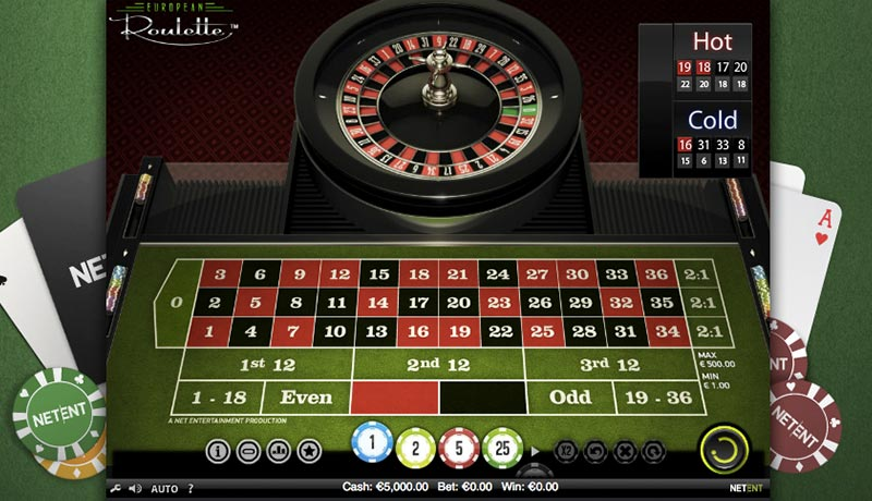 Roulette system 23484